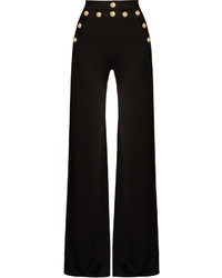 Balmain Wide Leg Knitted Trousers