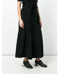 Comme Des Garçons Noir Kei Ninomiya Wide Leg Tied Waist Trousers