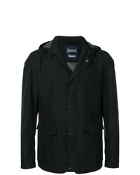 Herno Hooded Button Jacket
