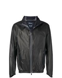 Herno Hooded Zip Front Jacket