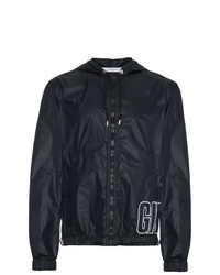 Givenchy Large Logo Hooded Jacket