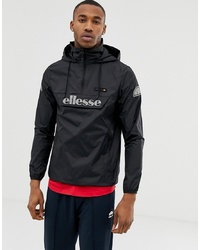 Ellesse Overhead Jacket With Reflective Logo In Black