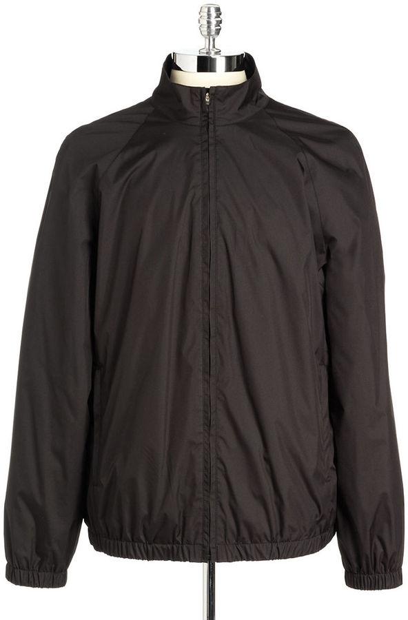 Black Brown 1826 Windbreaker Jacket | Where to buy & how to wear