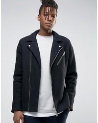 Selected Homme Wool Biker Jacket