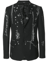 Alexander McQueen Safety Pin Blazer