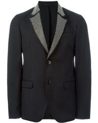Alexander McQueen Studded Lapel Blazer