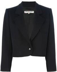 Yves Saint Laurent Vintage Cropped Blazer