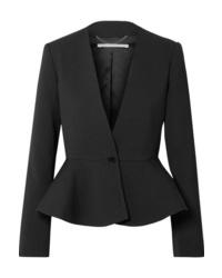 Stella McCartney Wool Blend Peplum Blazer