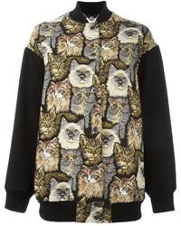 Stella McCartney Cat Detail Bomber Jacket