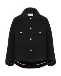 Chloé Cropped Wool Blend Jacket