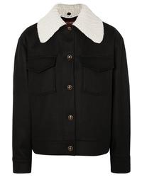 ALEXACHUNG Wool And Cashmere Blend Felt Jacket