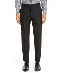 J.Crew J Crew Ludlow Flat Front Solid Wool Trousers