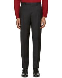Maison Margiela Black Wool Trousers