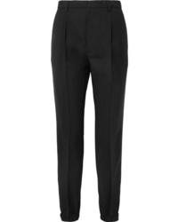 Prada Wool And Mohair Blend Straight Leg Pants