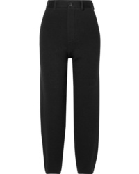 Balenciaga Wool Blend Ponte Straight Leg Pants
