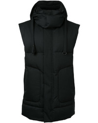 Juun.J Padded Hooded Gilet