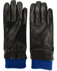AMI Alexandre Mattiussi Contrast Cuff Gloves