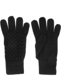 Intrecciato wool gloves medium 85708