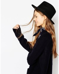 Asos Collection Felt Panama Hat With Braid Braid Trim New Improved Fit