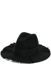 Federica Moretti Frayed Brim Hat