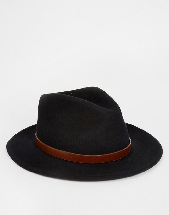 ... Brixton Messer Fedora Hat ... 26b3916024e