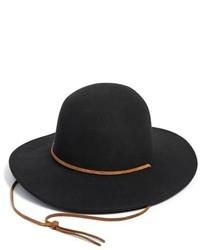 Brixton Tiller Felt Panama Hat Black