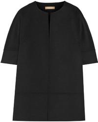 Michael Kors Michl Kors Collection Melton Wool Blend Jacket Black