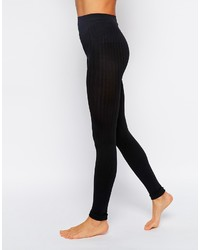 Collection ribbed footless tights medium 152152