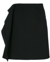 MM6 MAISON MARGIELA Frayed Ruffle Panel Skirt