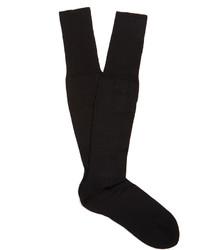 Falke N6 Wool And Silk Blend Knee High Socks
