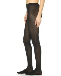 Fine cotton rib tights medium 183894