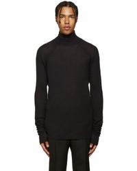 Black Wool Turtleneck