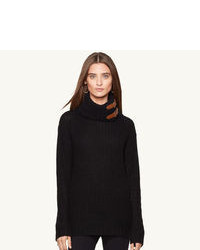 Black Wool Turtleneck