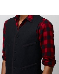 Denim & Supply Ralph Lauren Ralph Lauren Denim Supply Slim Fit Wool Vest