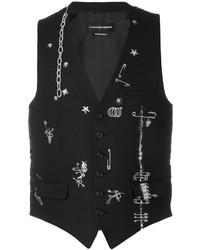 Alexander McQueen Safety Pin Waistcoat