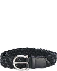 Salvatore Ferragamo Woven Rope Belt