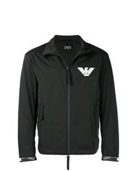 Emporio Armani Logo Zipped Jacket