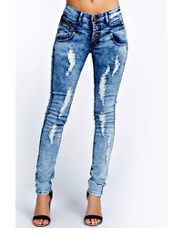 Blue Acid Wash Jeans