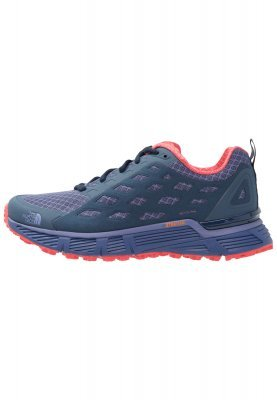 The North Face Endurus Tr Trail Running Shoes Coastal Fjord Bluecayenne Red