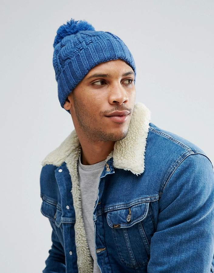 7x Cable Beanie Hat