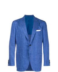 Kiton Fitted Blazer Jacket