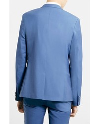 Topman Light Blue Ultra Skinny Suit Jacket | Where to buy & how to ...