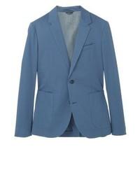 Mango Vasteras Slim Fit Suit Jacket Blue