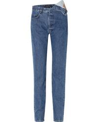 Y/Project Asymmetric Boyfriend Jeans