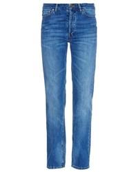 Maison Margiela Patch Pocket Boyfriend Fit Jeans