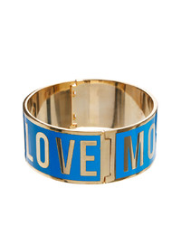 Love Moschino Chunky Blue Logo Bracelet