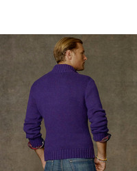Polo Ralph Lauren Cotton Half Zip Sweater