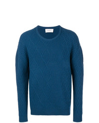 Pringle Of Scotland Diamond Cable Knit Jumper