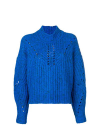 Isabel Marant Jilly Crochet Knit Jumper