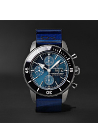 Blue Canvas Watch